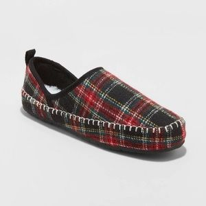 NWT: Stars Above Plaid Slippers!